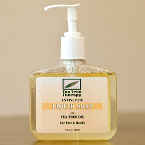 Antibacterial Liquid Soap with Tea Tree Oil, 8 oz, Tea Tree Therapy