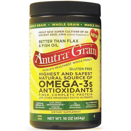 Anutra Whole Grain, Better Than Flax & Fish Oil, 16 oz