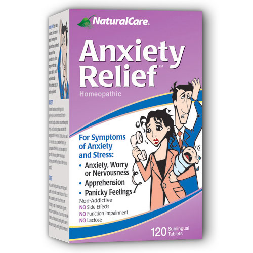 Anxiety Relief Sublingual 120 tabs from NaturalCare