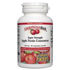 ApplePectinRich Apple Pectin Concentrate, 90 Veggie Caps, Natural Factors