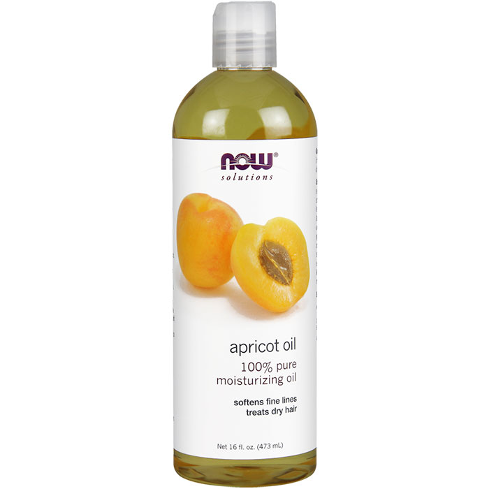 Apricot Kernel Oil 16 oz, NOW Foods