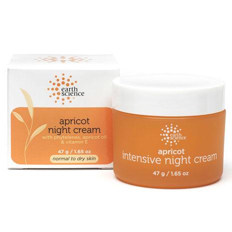 Apricot Night Cream, 2 oz, Earth Science