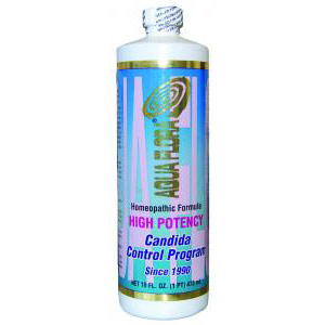 Aqua Flora High Potency Candida Control Program, 16 oz