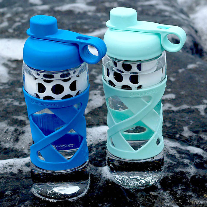 Aquasana Active Take a shower Filtered Water Bottle, 2 Pack