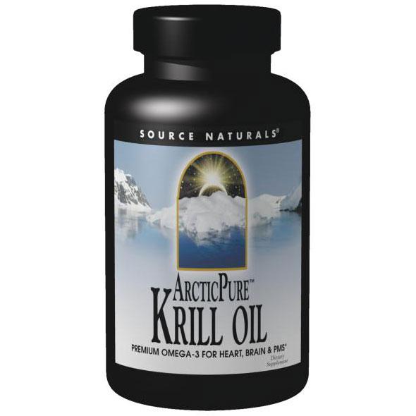 ArcticPure Krill Oil 1000 mg, 60 Softgels, Source Naturals