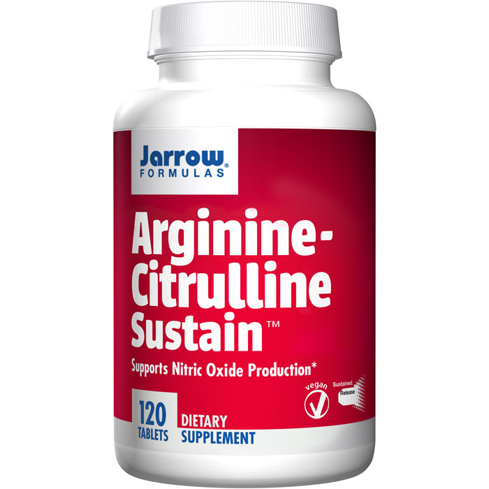 Arginine-Citrulline Sustain, 120 Tablets, Jarrow Formulas
