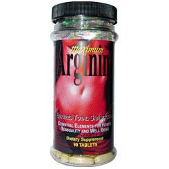 Arginine Max, Maximum L-Arginine Complex, For Men and Women, 90 Tablets