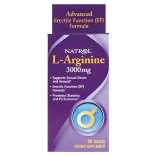 L-Arginine 3000 mg, 90 Tablets, Natrol