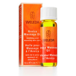 Weleda Arnica Massage Oil Travel Size, 0.34 oz