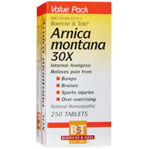 Arnica Montana 30X, 250 Tablets, Boericke & Tafel Homeopathic