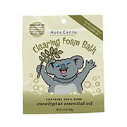 Aromatherapy Foam Bath Kids Clearing, 2.5 oz Pouch, Aura Cacia