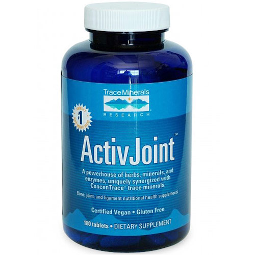 ActivJoint (Bone, Joint & Ligament), 180 Tablets, Trace Minerals Research