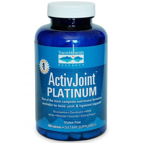 ActivJoint Platinum (Bone, Joint & Ligament), 180 Tablets, Trace Minerals Research
