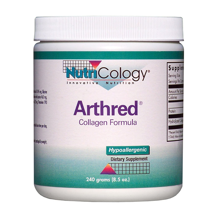Arthred Collagen Formula Powder 240 gm from NutriCology