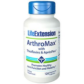 ArthroMax with Theaflavins & ApresFlex, 120 Vegetarian Capsules, Life Extension