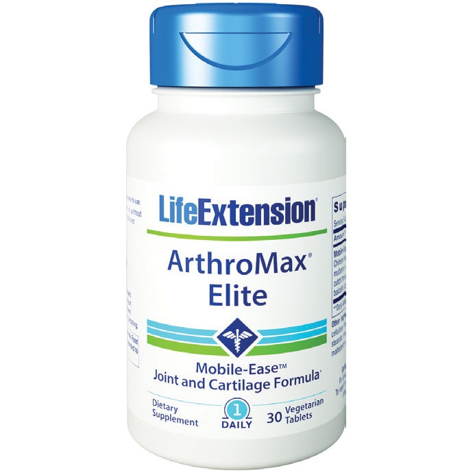 ArthroMax Elite, Joint and Cartilage Formula, 30 Vegetarian Tablets, Life Extension
