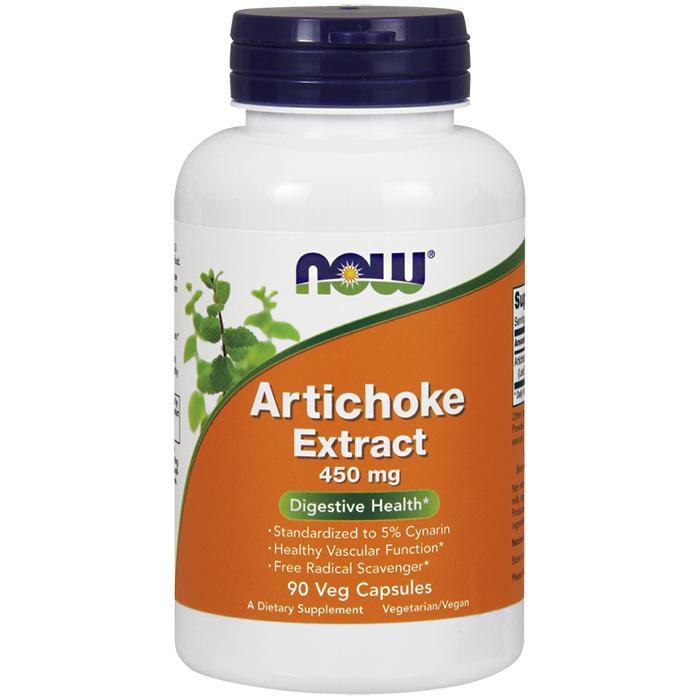 Artichoke Extract 450 mg, 90 Vegetarian Capsules, NOW Foods