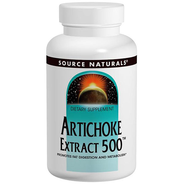 Artichoke Extract 500 45 tabs from Source Naturals