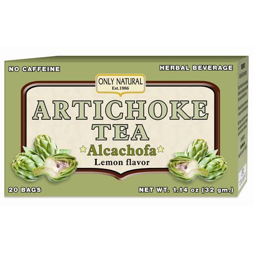 Artichoke Tea, 20 Bag, Only Natural Inc.
