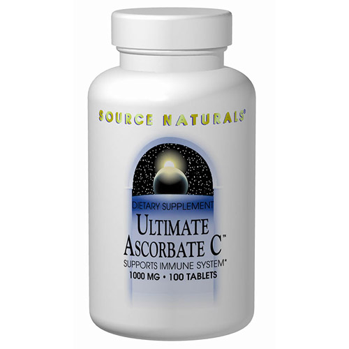 Ultimate Ascorbate C Vitamin C Powder 16 oz from Source Naturals