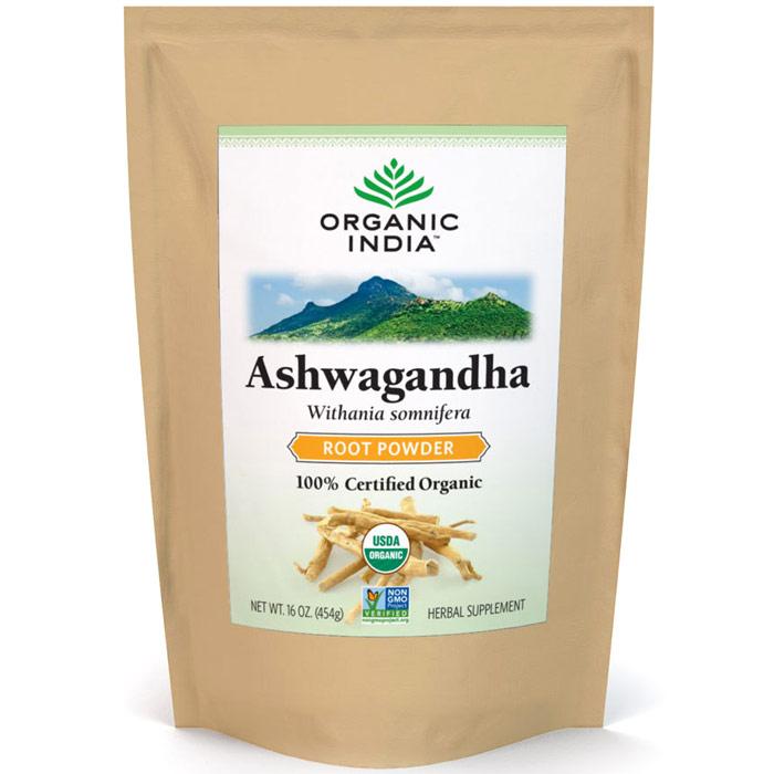 Ashwagandha Root Powder, 1 lb, Organic India