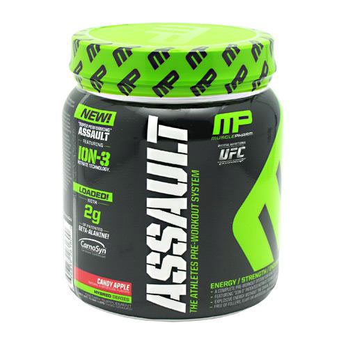 Muscle Pharm Assault Powder, The Athletes Pre-Workout System, 30 Servings