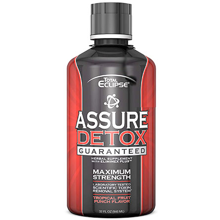 Assure Detox Cleansing Liquid, Tropical Fruit Punch Flavor, 32 oz, Total Eclipse