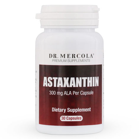 Astaxanthin 4 mg, With ALA, 30 Capsules, Dr. Mercola