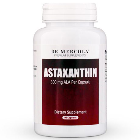 Astaxanthin, Value Size, 90 Capsules, Dr. Mercola
