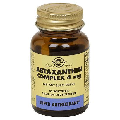 Astaxanthin 5 mg, 30 Softgels, Solgar