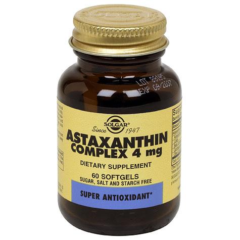 Astaxanthin 5 mg, 60 Softgels, Solgar