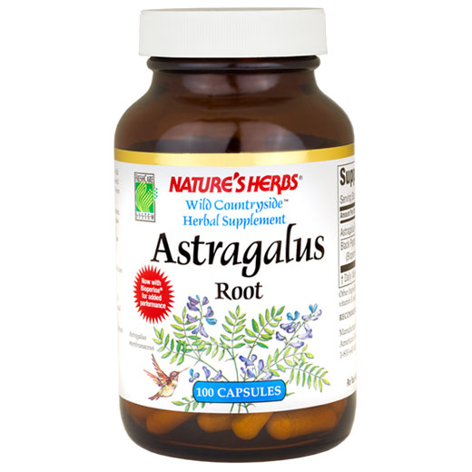 Astragalus Root 400mg 100 caps from Natures Herbs