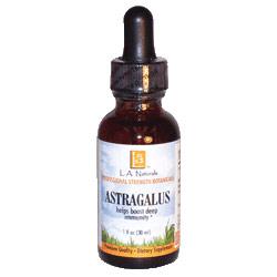 Astragalus Organic, 1 oz, L.A. Naturals