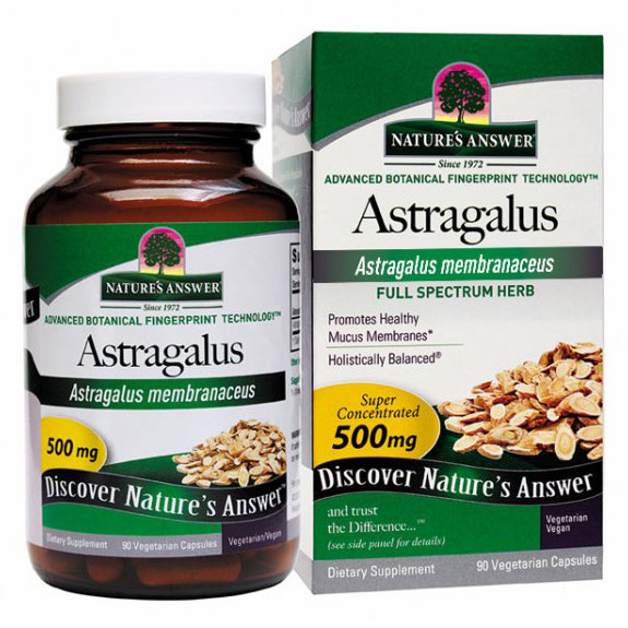Astragalus Root 90 capsules from Natures Answer