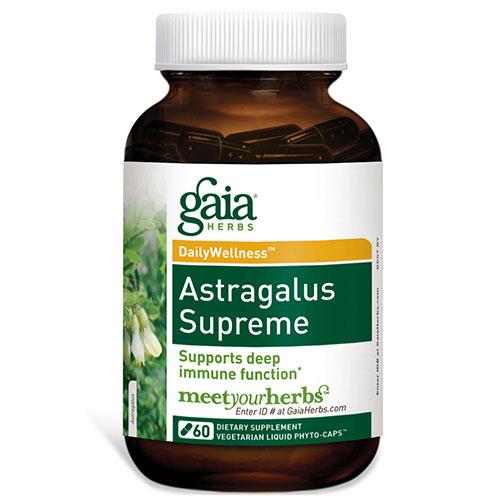 Astragalus Supreme, 60 Liquid Phyto-Caps, Gaia Herbs
