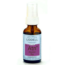 Liddell Attention Plus Homeopathic Spray, 1 oz