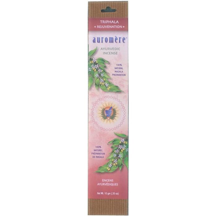 Ayurvedic Incense - Triphala, 10 g, Auromere