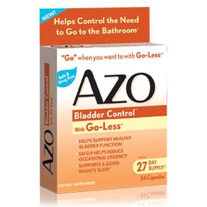 AZO Bladder Control, 54 Capsules, i-Health, Inc.