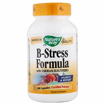 B-Stress Vitamin B Complex Formula 100 caps from Natures Way