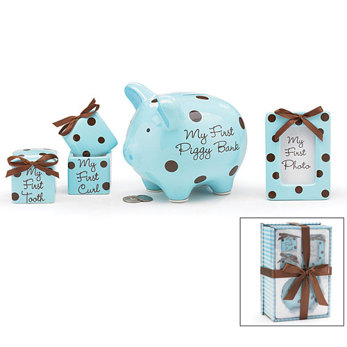 Baby Boy Keepsake Gift Set, Elegant Gift Baskets Online