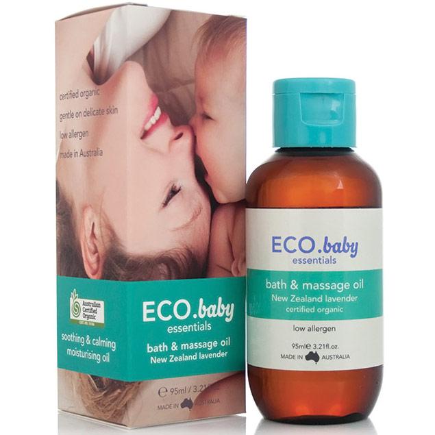 ECO Baby Essentials Bath & Massage Oil, 3.21 oz, Eco Modern Essentials