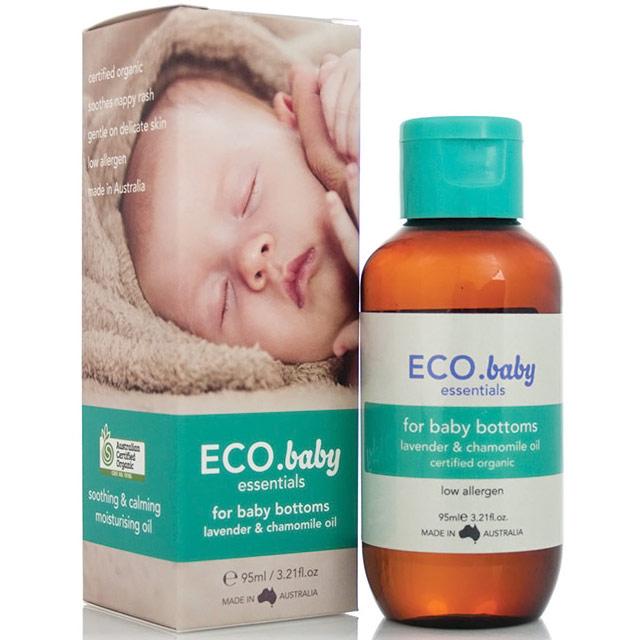ECO Baby Essentials Bottom Oil, 3.21 oz, Eco Modern Essentials