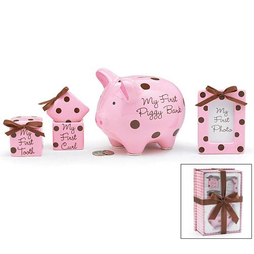 Baby Girl Keepsake Gift Set, Elegant Gift Baskets Online