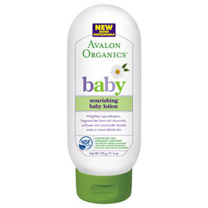 Baby Lotion Weightless Nourishing 6 oz, Avalon Organics