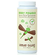 Baby Powder, Extra Mild Unscented, 4.5 oz, Little Twig