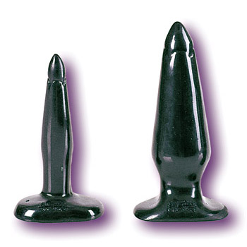 Back Door Probe - Black Medium, California Exotic Novelties