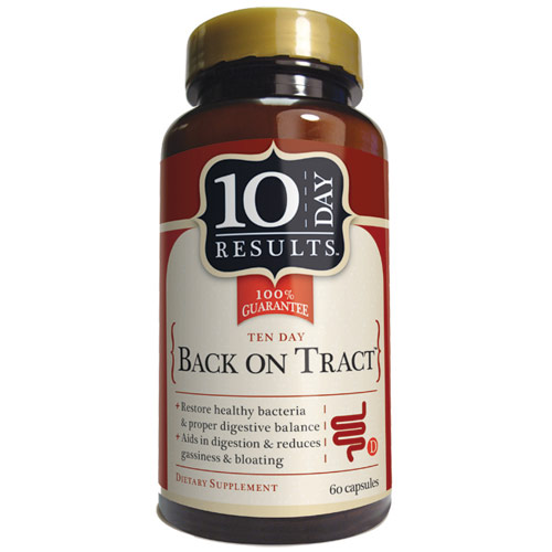 Back on Tract, 60 Capsules, 10 Day Results