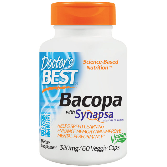 Bacopa with Synapsa 320 mg, 60 Veggie Caps, Doctors Best
