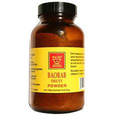 Baobab Fruit Powder, 4 oz, African Red Tea Imports