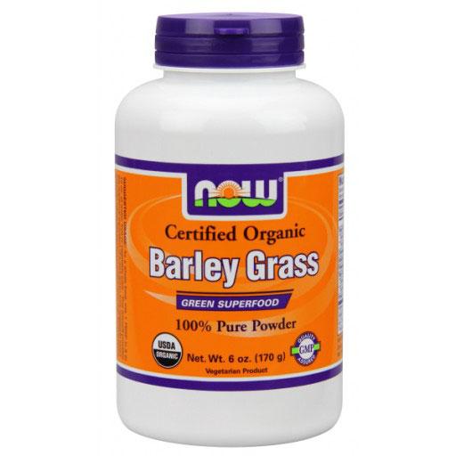 Barley Grass Powder, Organic Barleygrass Powder 6 oz, NOW Foods